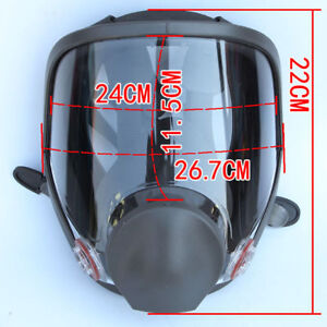 Painting Spraying 15 In 1 Full Face Gas Mas Dust Mask Facepiece 6800 Safety