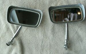 Vintage Ford Chevy Dodge Oldsmobile Truck Rat Rod Clamp On Mirrors