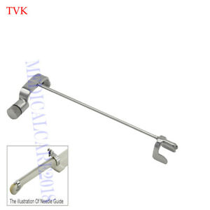 Stainless Steel Biopsy Needle Guide For Hitachi Eup v33w Ultrasound Probe