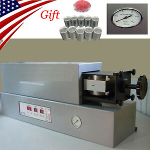 2019 Dental Automatic Flexible Remove Partial Denture Injection System Machine
