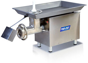 Commercial 32 Butcher Meat Grinder 3 Hp 3300 Lbs Prod 220 Volt 3 Phase