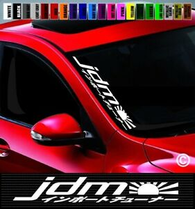 20 Jdm 4 Side Windshield Car Decal Sticker Japanese Flag Import Street Racing
