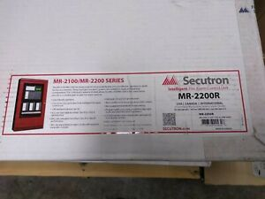 Fire Alarm Panel Addressable Secutron mr 2200r