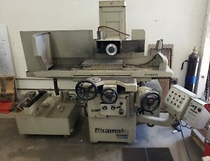 Okamoto 820a 8 X 20 Hydraulic Manual Surface Grinder Neutrofier Ii