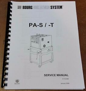 Cp Bourg Collators System Service Manual For Pa s t Folder Technician Manual