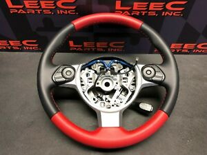 2019 Toyota 86 Trd Brz Frs Oem Trd Edition Red Steering Wheel