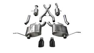 Corsa Performance 14991blk Sport Cat Back Exhaust System