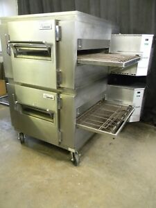 Lincoln Impinger Conveyor Double Stack Pizza Gas Oven 1450 we Offer Financing