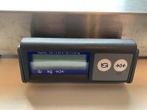 Mettler toledo Ps60 Shipping Parcel Scale 150 Lb X 0 05 Lb stainless Steel