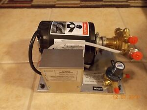 Cornelius 620408124 Carbonator Inteli Pump Motor Assembly As Is Free Shipping