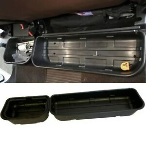 For 2015 2019 F 150 Super Crew Cab Underseat Storage Tool Box Portable Basket
