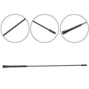 16 Replacement Car Radio Stereo Aerial Bee Sting Mast Antenna Black