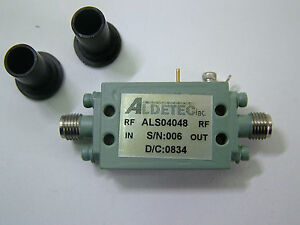 Rf Amplifier Als04048 10mhz 2 5ghz 15db 15dbm 9v New Patentix Ltd
