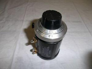 Beckman 15 Turns Duodial Counting Dial Helipot A R500 Precision Potentiometer