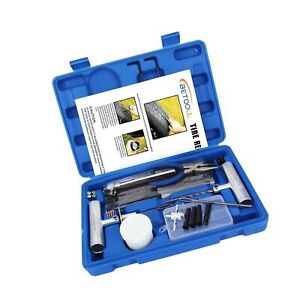Betooll 67pc Tire Repair Kit For Car Motorcycle Atv Jeep Truck Tractor F