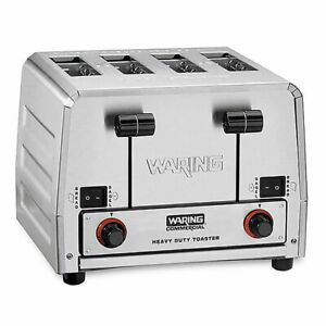 Heavy duty Switchable Toaster 120v Waring Commercial Wct850rc