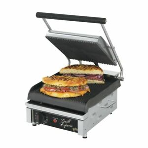 Star Gx10ig Grill Express 10 Grooved Sandwich Grill