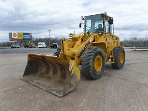 2007 Komatsu Wa250 5l Wheel Loader With Only 3100 Hours