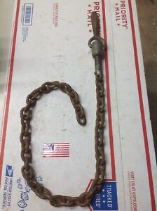 Greenlee 36 Vise Chain Tugger Tiedown 640 7123 Silver Color Handle