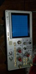 Tektronix 434 Storage Oscilloscope For Parts Or Repair