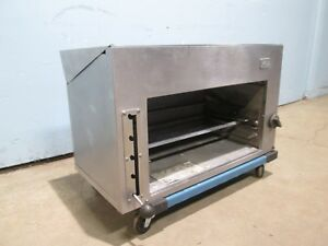 southbend Mr a36 Hd Commercial nsf 32 Nat Gas Salamander cheese Melter