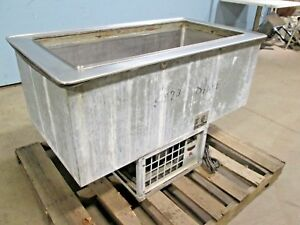 atlas Metal Wdf 3 H d Commercial Ss Refrigerated drop in Cold Well Insert