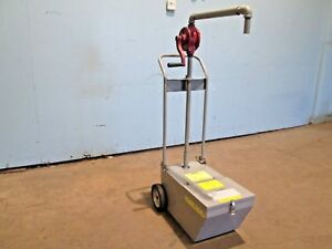frymaster sdu50 Commercial 50lbs Capacity Fry Oil Cart Disposal System W pump