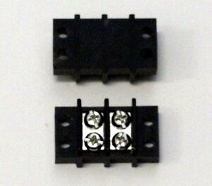 2 Position 20 Amp Terminal Block Package Of 5