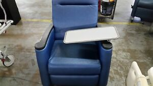 Reclining Medical Chair With Plastic Tray