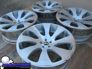 24 Forgiato Tasca Ecl Rolls Royce Wraith Wheels Rims 24x9 24x10 5x120 Brushed
