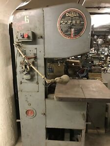 Doall 1612 0 Vertical Metal Band Saw 16 x12 Variable Speed Philly Pickup