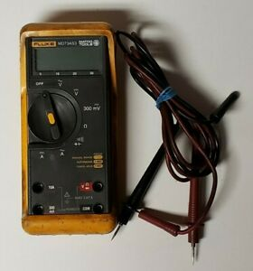 Fluke Md73as3 Matco Tools Multimeter With Case Leads