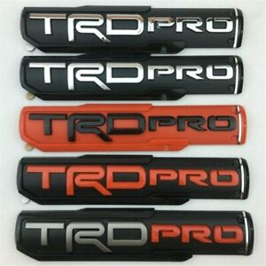 Toyota Tacoma Trd Pro 99 2019 Truck Car Door Emblem Front Fender Badge Sticker