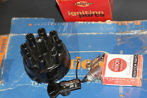 1955 1956 Plymouth Ignition Distributor Points Rotor Tune Up Kit Genuine Usa Ma