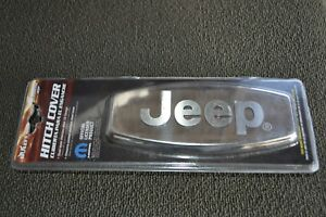 Jeep Hitch Cover Chrome Plated Stainless Steel 1 1 4 To 2 Rcvr Bully New