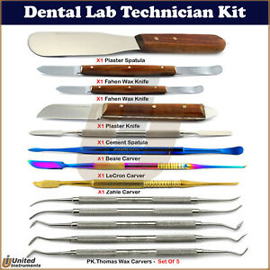 Medentra Dental Wax Carving Modelling Sculpting Tools For Mixing Material Knives