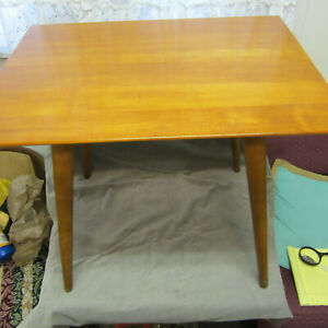 Maple End Table By Paul Mccobb Planner Group 1950 S Mid Century Modern