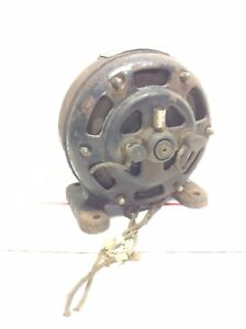 Antique Wurlitzer Electric Pancake Motor Holtzer Cabot Electric Motor