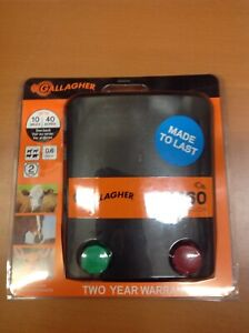 Brand New Gallagher M60 Fence Energizer Ships Free