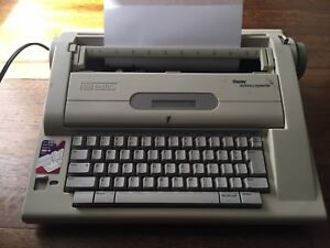 Vintage Smith Corona Typewriter Display 800 Dictionary Na3hh Electric Working