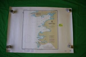 Lake Superior Heron Bay 33x23 25 Vintage 1993 Nautical Chart Map