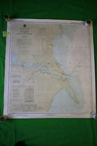 Michigan Wisconsin Menominee Marinette 28x25 25 Vintage 1990 Nautical Chart Map