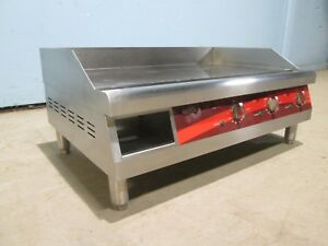 avantco Fn 03 H d Commercial etl 30 X 20 208 240v 1 Electric Griddle