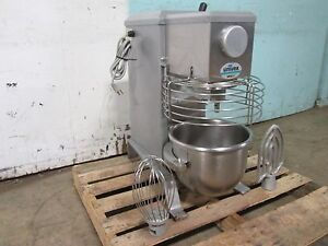 univex Srm12 H d Commercial nsf 12qt Bakery Mixer 115v 1 3hp W paddle whip