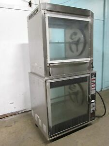 henny Penny H d Commercial Digital Double Stacked Electric Rotisserie Oven