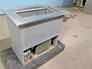 randell H d Commercial Ss Refrigerated drop in Single Well Cold Pan Insert
