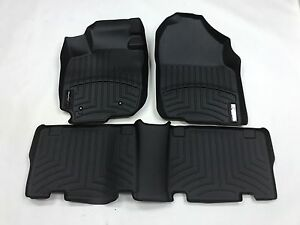 Weathertech Digitalfit Floorliner Toyota Rav4 2006 2012 Black