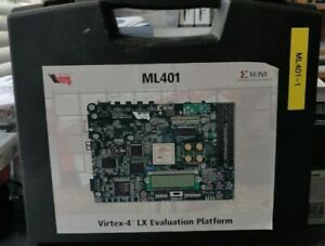 Xilinx Ml 401 Virtex 4 Lx Evaluation Platform Comes With The Case