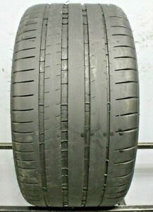 One Used 295 35zr20 2953520 Michelin Pilot Super Sport Porsche N0 6 32 M301