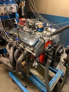 454 561hp Dyno Run Bb Chevy High Perf Balanced Crate Engine Alum Heads In Stock